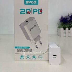 Củ sạc nhanh BWOO PD 20W chính hãng