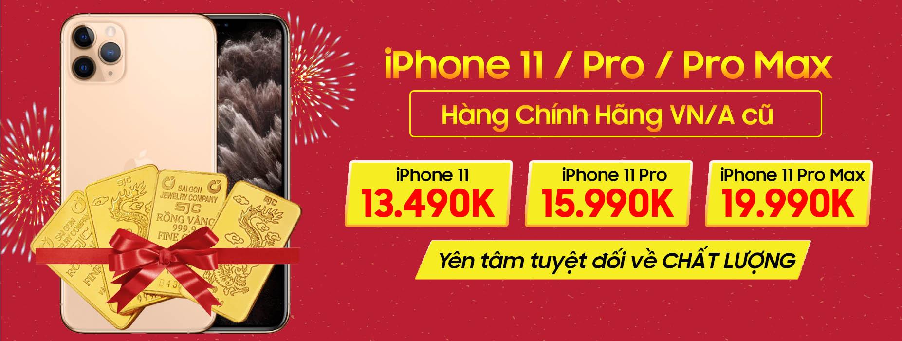 iPhone 11 Series chính hãngiPhone 11 Series chính hãng